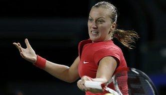 WTA New Haven: Petra Kvitova rywalką Agnieszki Radwańskiej, Karolina Woźniacka obroniła meczbole