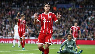 Bayern osłabiony. Kontuzja Jamesa