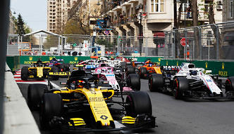 F1: 40 mln dolarów za wyścig. Polska może tylko pomarzyć