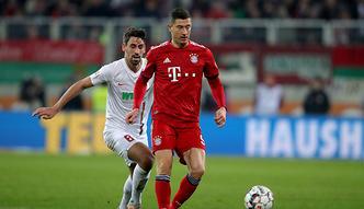 Męczarnie Bayernu w Augsburgu