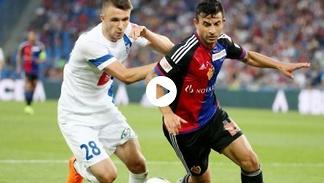 El. LM: FC Basel – Lech Poznań (skrót)