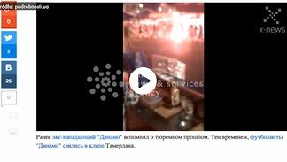 Bijatyka w Kijowie. Starcie chuliganów Legii i Dynama
