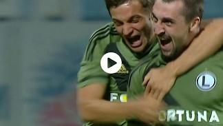 Zoria - Legia 0:1: Gol Kucharczyka